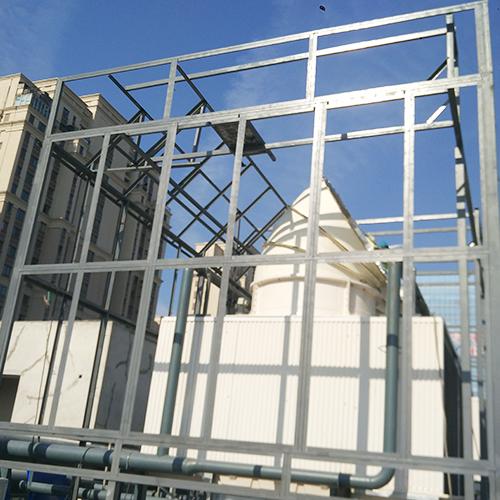 中海广场K地块冷却塔降噪钢结构