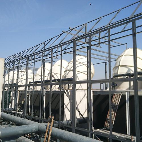 冷却塔降噪钢结构